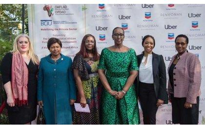 Une rencontre des 1ères Dames d»Afrique souhaite le partenariat avec le Secteur Privé