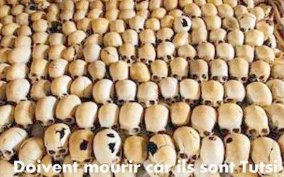 BEGLES, FRANCE  : 25e Anniversaire du Génocide Contre les Batutsi
