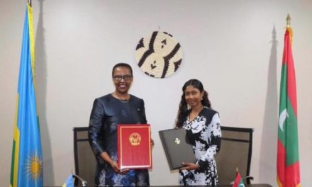 Le Rwanda et les Maldives établissent des relations diplomatiques