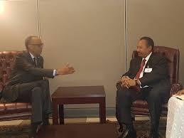 Le Président Kagame a rencontré le Premier Ministre soudanais