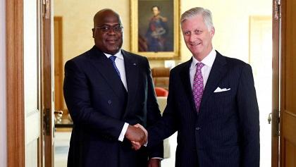 RDC – BELGIQUE : Le Président Tshisekedi à Bruxelles