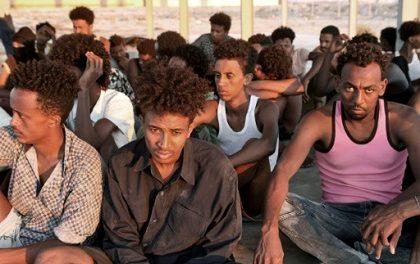 Le Premier Groupe des Migrants Venus de Libye  Est Accueilli au Rwanda