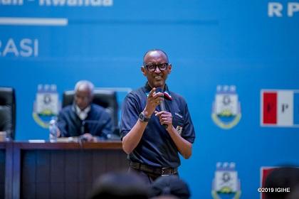 Nous Avons Fait Beaucoup de Réalisation en Tant que FPR – Kagame