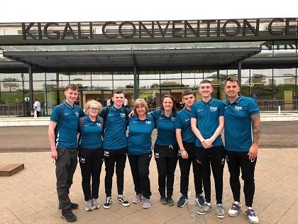 IRLANDE DU NORD : De Jeunes Ambassadeurs de Belfast Nouent des Liens  avec le Rwanda lors de l'Assemblée générale de la CGF
