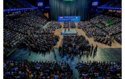 Kagame l'idole des jeunes ovationné au Youth Connect Afrika Kigali 2019 : Plus jamais de frontières