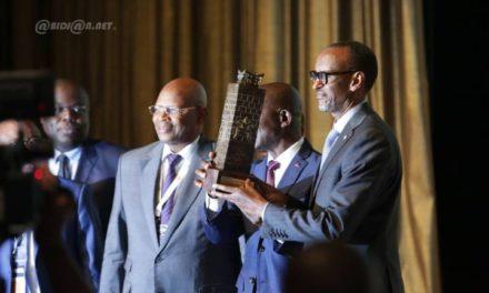 Un Prix spécial des Patronats ouest-africains décerné à Kagamé à Abidjan