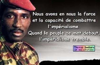 LEGENDES MODERNES : Thomas Sankara, Nationaliste  et Africaniste