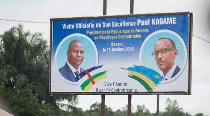 CENTRAFRIQUE – RWANDA : Visite Officielle du Président Kagame en République Centrafricaine