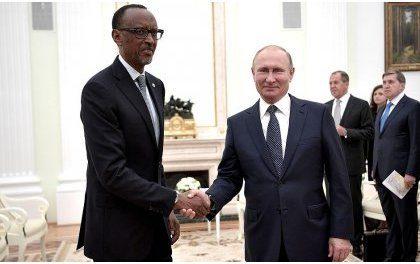 Perezida Kagame yitabiriye inama ya mbere igiye guhuza Afurika n'u Burusiya