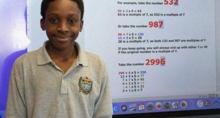 Un jeune nigérian de 12 ans découvre une nouvelle formule mathématique