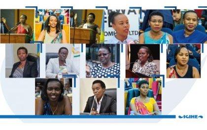 Ubwiganze bw'abagore mu buyobozi bwa za Minisiteri mu Rwanda