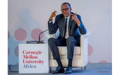 A l'inauguration de Carnegie Mellon-Afrique, Kagame parle de ses choix idéologiques de 1994 de non Revenge et Reconciliation