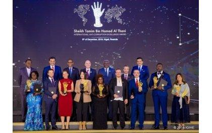 Une cérémonie internationale  de lutte contre la corruption à Kigali : des Prix décernés