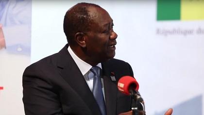 DEFENCE DU CFA : Le Président Ivoirien Ouattara Défend une Monnaie Rattachée A l'Euro