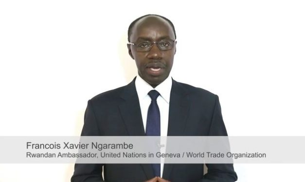 Rencontre avec Son Excellence Dr. François Xavier NGARAMBE