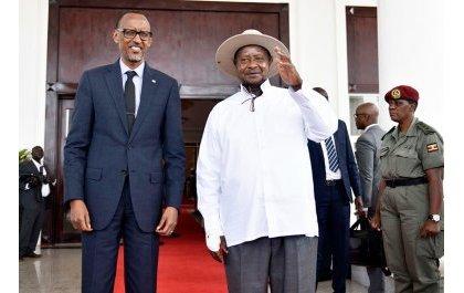 Une possible rencontre Kagame-Museveni attendue en vain à Londres