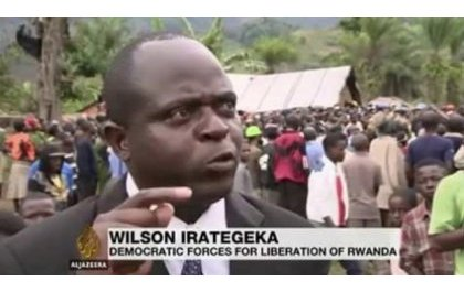 Gen Wilson Irategeka uyobora umutwe wa FLN birakekwa ko yishwe