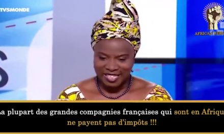 Angerique Kidjo pille nos ressources naturelles
