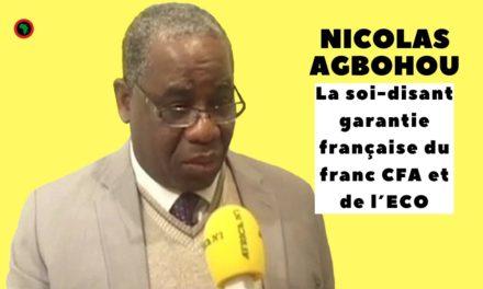 La soi-disant garantie française du franc CFA et de l'ECO