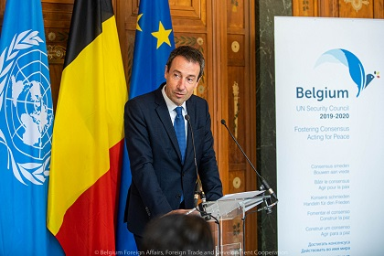 CONSEL DE SECURITE : La Belgique Prend la Présidence du Conseil de Sécurité des Nations Unies