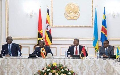 GRANDS LACS :Fin du Sommet de Luanda sur des Propositions de Paix entre l'Ouganda et le Rwanda