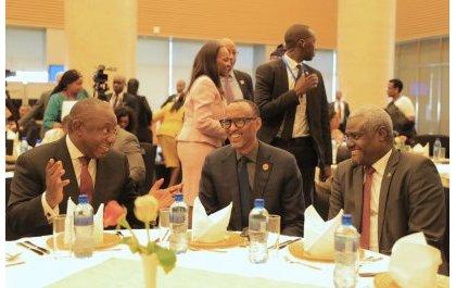 Perezida Kagame yatorewe kuyobora akanama k'urwego rushinzwe iterambere rwa AU