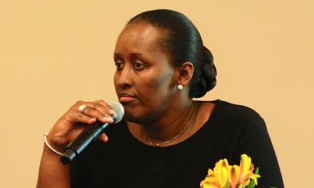 Aux USA, la Première Dame partage l'expérience du Rwanda en matière de réconciliation