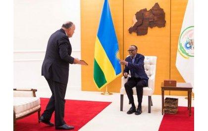 Ni iki kiri mu butumwa Perezida Sisi wa Misiri yoherereje Perezida Kagame?