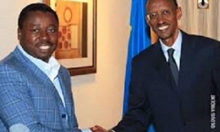 RWANDA – TOGO : Le Message de Paul Kagame à Faure Gnassingbé