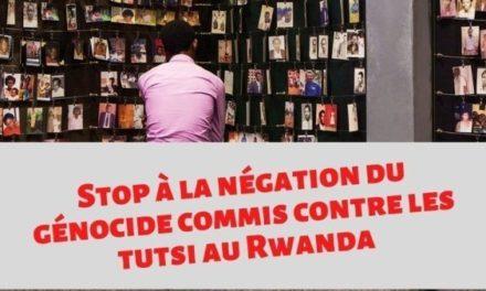 Une pétition lancée contre la participation des négationnistes du génocide dans un colloque prévu au Senat français