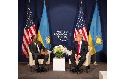Entretien de Paul Kagame et Donald Trump sur l'état des relations entre leurs pays