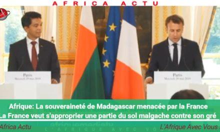Alerte! Le territoire de Madagascar menacé par l'envahisseur français