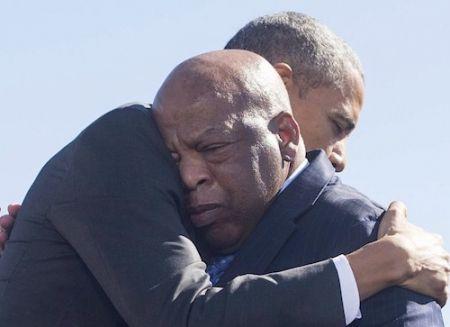 Décès de John Lewis, héros du mouvement américain des droits civiques