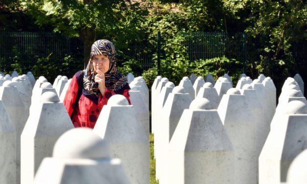 Commémoration du 25e anniversaire du génocide de Srebrenica.