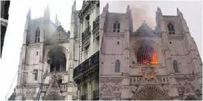 DIASPORA EN FRANCE : Incendie de la Cathédrale de Nantes : Qui est le Servant de Messe Rwandais Placé en Garde à Vue?