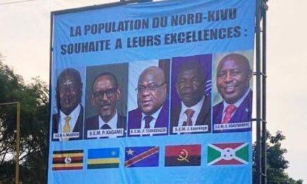 Le sommet des Chefs d'Etat des Grands Lacs prévu à Goma encore reporté