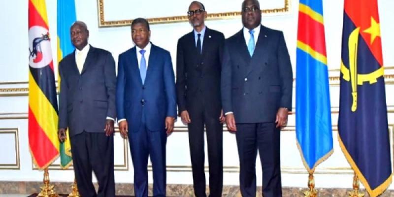 Fatshi à Goma: un sommet quadripartite RDC- Ouganda- Rwanda confirmé par visioconférence le mercredi 7 octobre