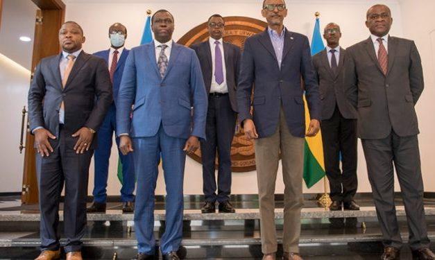 Kagame reçoit un envoyé de Tshisekedi