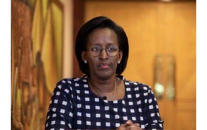 La Première Dame, Jeannette Kagame, appelle les grands du pays a dépasser leurs sentiments ethnistes