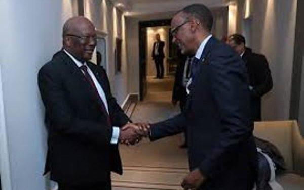 Le Président Kagame félicite son homologue burkinabé pour sa réélection