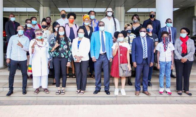 RWANDA : DES DIZAINES D'AFRO-AMERICAINS CHOISISSENT DE S'INSTALLER AU RWANDA