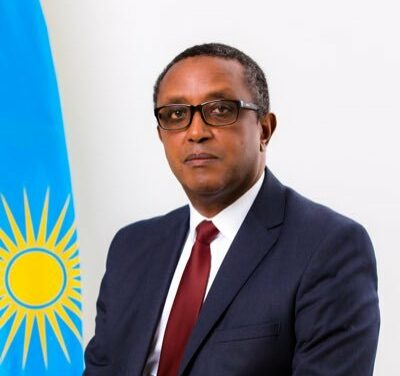 Visite de travail, en République Centrafricaine, du Ministre des Affaires Etrangères de la République du Rwanda