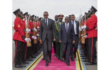 Perezida Kagame yababajwe n'urupfu rwa Perezida Magufuli yise 'umuvandimwe n'inshuti'