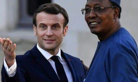 Emmanuel Macron aux funérailles d'Idriss Déby Itno : les présidents passent, la Françafrique reste !