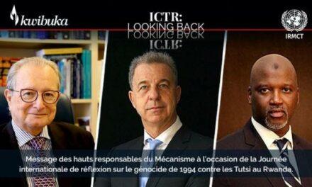 Message des hauts responsables du Mécanisme à la Journée internationale de réflexion sur le génocide des Tutsi, le 7 avril 2021