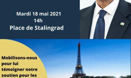 LA COMMUAUTE RWANDAISE DE FRANCE SOUHAITE LA BIENVENUE A S.E LE PRESIDENT PAUL KAGAME