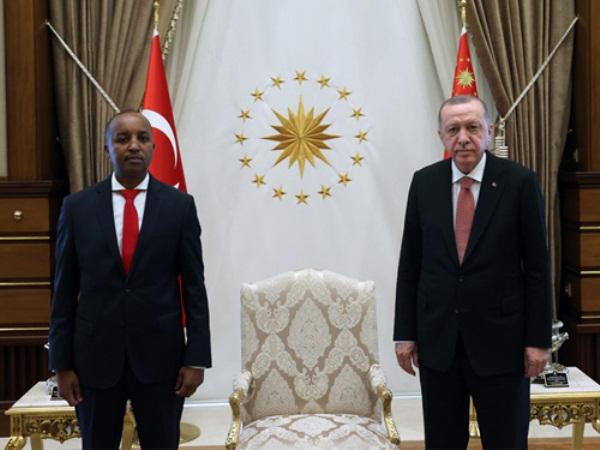 Le nouvel Ambassadeur du Rwanda en Turquie a présenté ses lettres de créance