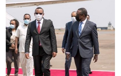 Perezida Kagame agiye kwakira Minisitiri w'Intebe wa Ethiopia Abiy Ahmed