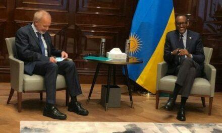 Le Chef de l'Etat rwandais a rencontré le président de la Banque européenne d'investissement