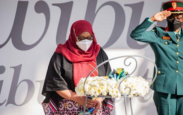 La Présidente de la Tanzanie a rendu hommage aux victimes du génocide